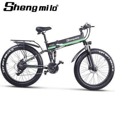 Nueva Bicicleta Eléctrica 1000W 4.0Fat Tire Mountain Bike 48v Cruiser Beach Bike