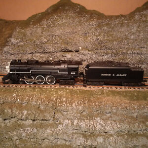 Lionel O Scale B&A Hudson Steam Engine with Railsound II