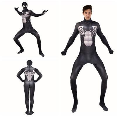 Venom Symbiote Spider-Man Cosplay Costume Spider Man Bodysuit For Adult & Kids](Venom Costume Men)