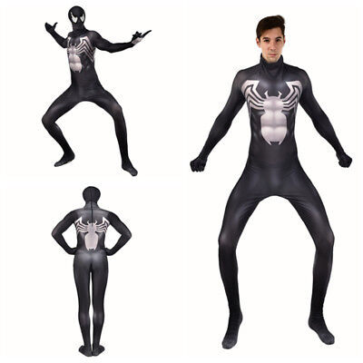 Venom Symbiote Spider-Man Cosplay Costume Spider Man Bodysuit For Adult & Kids](Venom Costume For Child)