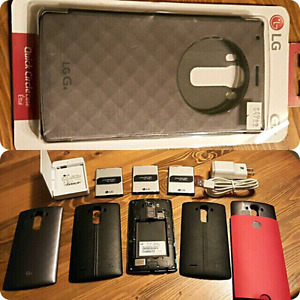 UNLOCKED LG G4 (Used 7 mths) WITH 3 batteries plus more