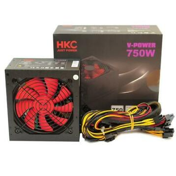 HKC V-Power 750W Voeding Retail, 12cm Ventilator (V-750)