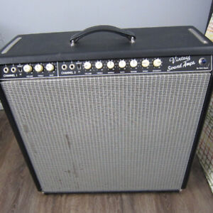 Hand Wired  Custom Vintage sound Super Reverb Amp by Rick Hayes