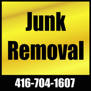Junk Removal   416-704-1607