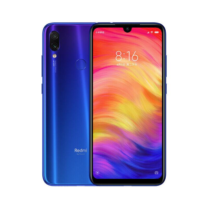 """Xiaomi Redmi Note 7 6,3"""" Smartphone 3GB 32GB 48+13MP Versión En Español Azul"""