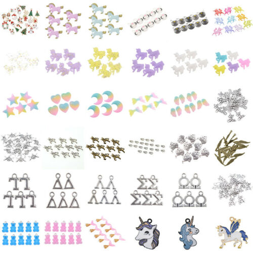 Beads - Wholesale DIY Lots Unicorn Bear Beads Jewelry Making Charms Craft Xmas Gift Hot