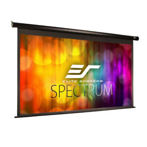 Elite Screens Spectrum, 100-inch 16:9, 4K Home Theater Electric