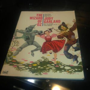 The wizard of oz piano/vocal edition with music sheets