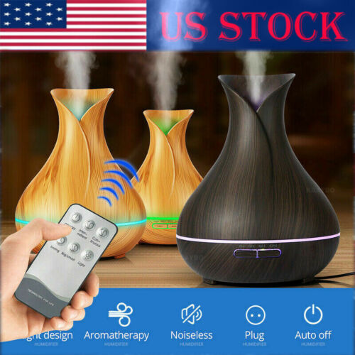 7LED Aroma remote 400ml Diffuser with Humidifier Air US Esse