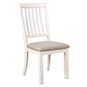 Highlands Side Chair in Antique White (WW38)