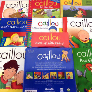 Lot 15 Caillou Books Picture Storybooks Toddlers Young Children