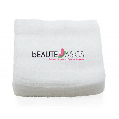 2000 Ct. 4x4 12-ply Esthetic Facial Cotton Gauze for High Frequency- DM2205x10