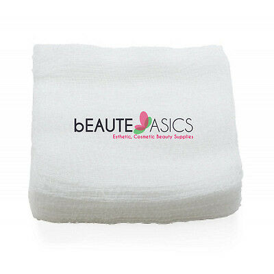 200 Ct. 4x4 12-ply Esthetic Facial Cotton Gauze for High Frequency- DM2205x1