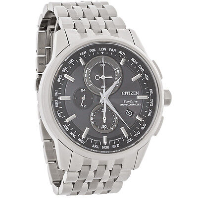 - Citizen Men's AT8110-53E Radio Controlled World Timer Eco-Drive Watch