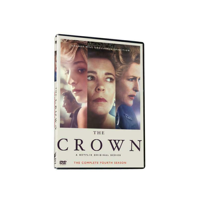 The Crown Season 4 FREE SHIPPING! BRAND NEW SEALED 3 Disc