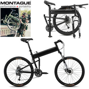 FOLDING Mountain Bikes by Montague  Quality Full-size 27-speed