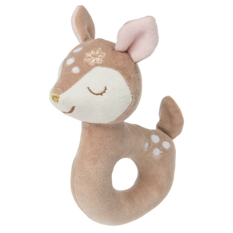 "Mary Meyer Itsy Glitzy Fawn 6"" Baby Rattle"