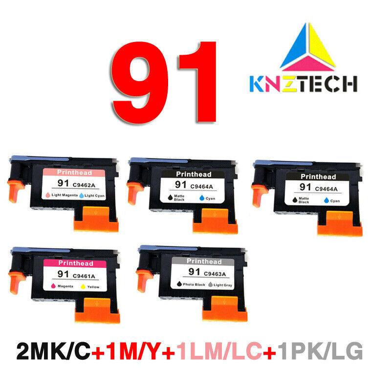 1pcs Photo Black//Light Gray C9463A for hp 91 for Z6100 Z6100P printhead hp91