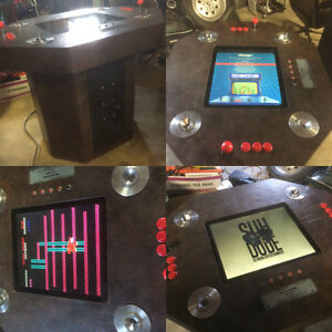 Awesome cocktail table arcade loaded with over 50 classics L@@K