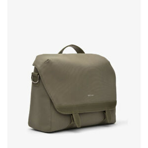Matt & Nat MARTEL - Olive Canvas n Messenger bag with strap $170
