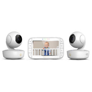 "Motorola® MBP36XL-2 Portable 5"" Video Baby Monitor with 2 Camera"