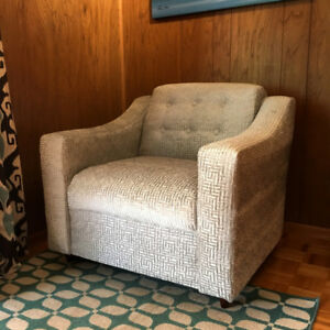 Newly Refinished Vintage Armchair