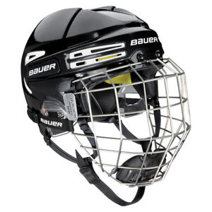 Bauer Re-Akt 75 Hockey Helmet Combo Brand New On Sale