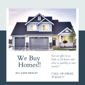 We BUY HOMES QUICKLY