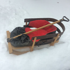 Toddler / Baby Sleigh for Snow Day!