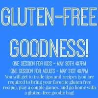 Gluten-Free Tips and Recipe Trading with Games and Prizes!