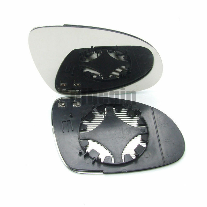 Wing Door Heated Mirror Right Side Glass For Vw Golf 2003