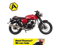 Herald Motor Co. Cafe 125 E4 - New for 2018 - Available now at Avon Motorcycles