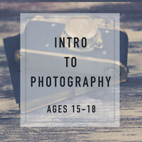 TEEN INTRO TO PHOTOGRAPHY