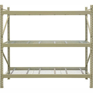 INDUSTRIAL STEEL SHELVING - BOLTED | BOLTLESS | WIDESPAN