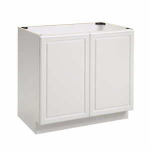 Two vanities or base cabinets