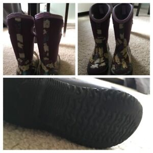 Toddler girl's winter boots