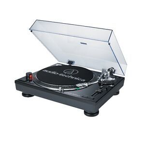 Audio-Technica AT-LP120BK-USB and Analog Turntable system