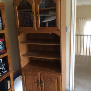 Display and storage cabinet/hutch