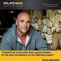 GoliathTech Screw Piles - Dauphin