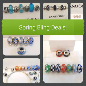 Authentic Pandora Charms and Bracelets