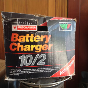 Moto Master 10/2 (10 amp) Battery Charger
