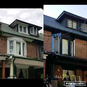 Eavestrough repairing and installing services Cambridge Kitchener Area image 5