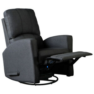 Varadero Swivel Glider - Charcoal Grey New in Box