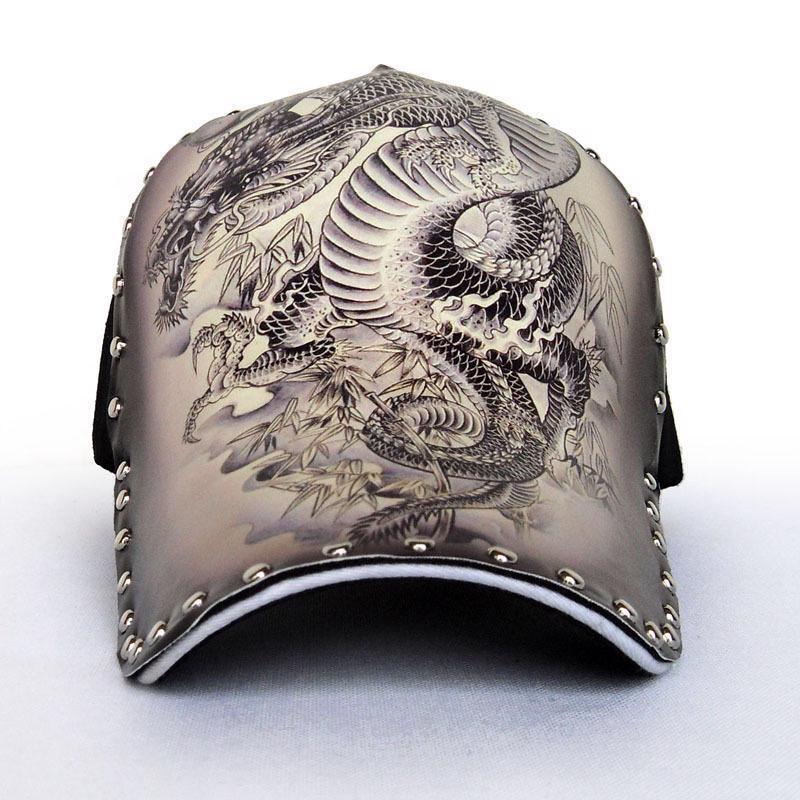 3D Printing Chinese Style Dragon Peafowl Elephant Skull Eagle Baseball Cap Fashion Snapback Cap Hip Hop Hat