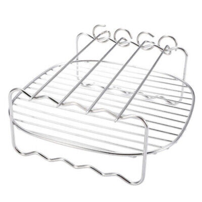 Needle Grill Holder Basket Air Fryer Rack Accessories Stainl