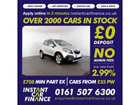 Vauxhall Mokka Cdti S/S 1.7 Manual Diesel LOW RATE CAR FINANCE AVAILABLE