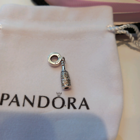 PANDORA DANGLE CHARM NEW WITH BOX BAG AND POUCH 925 SILVER ALE NEW