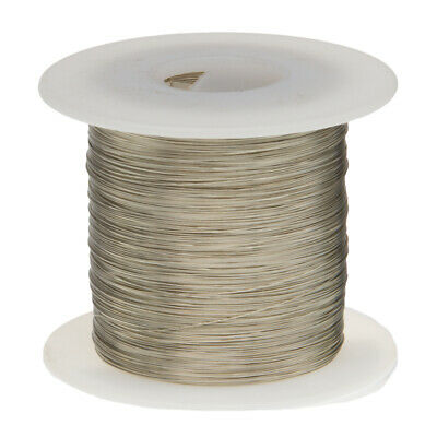 30 Awg Gauge Tinned Copper Wire Buss Wire 1000 Length 0.0100 Silver