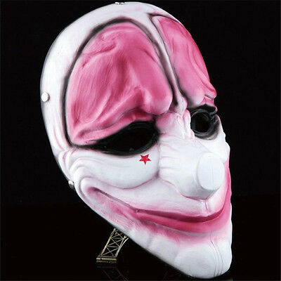 Game Payday 2 The Heist Hoxton Mask Cosplay Props Halloween Mask Collection - The Halloween Game 2