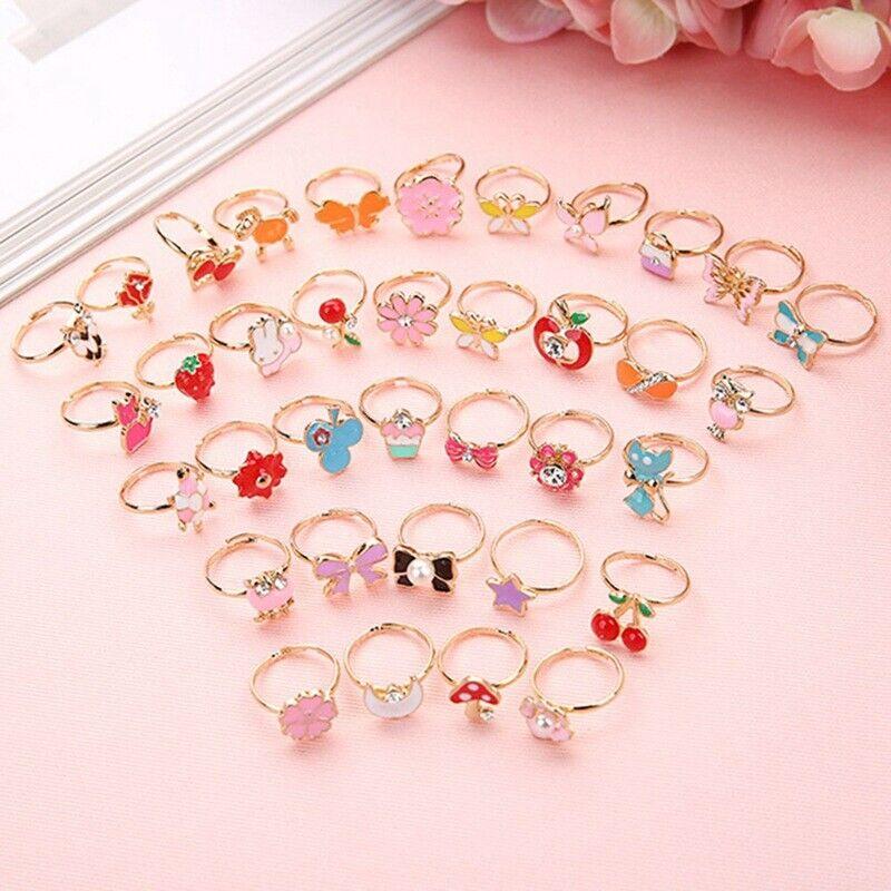 10pcs/set Cute Rings for Gift
